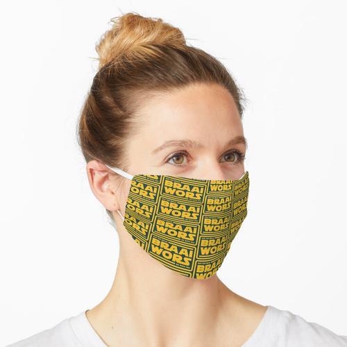 Braai Force - Braai Wors! (Gelb) Maske