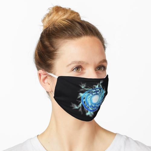 Das Symbol der Blauen Laterne Maske