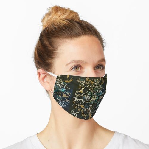 Magnetische Fragmentierung Maske