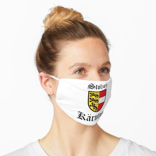 Stolzer Kärntner Maske