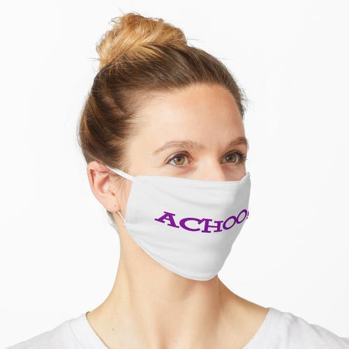Achoo! Vintage Yahoo Logo Maske