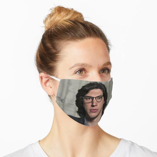 Adam Driver trägt eine Brille Maske