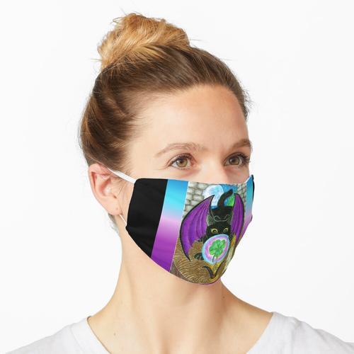 Rabe und die Kristallkugel Maske