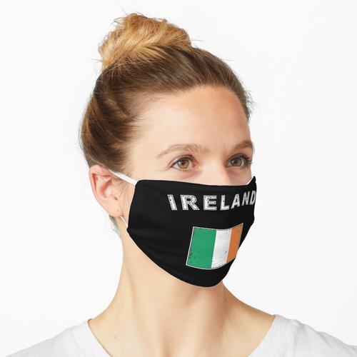 Irland irisch Flagge Fahne Maske