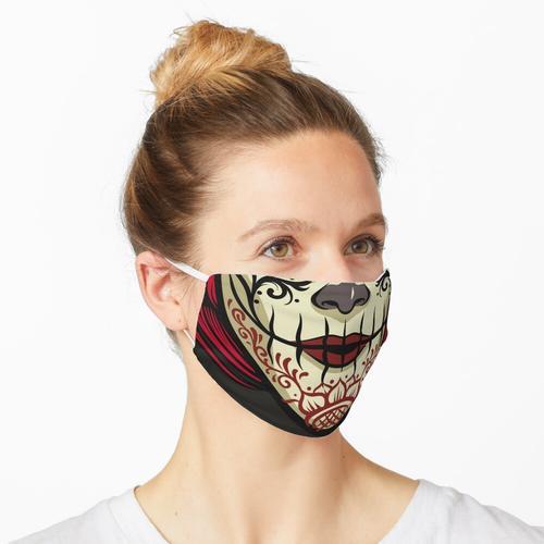 Zuckerschädel - Tag der Toten Maske