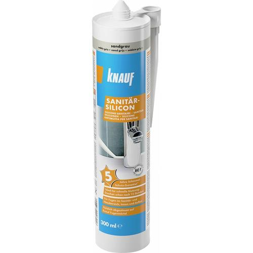 Sanitär-Silikon sandgrau, 300 ml - Knauf