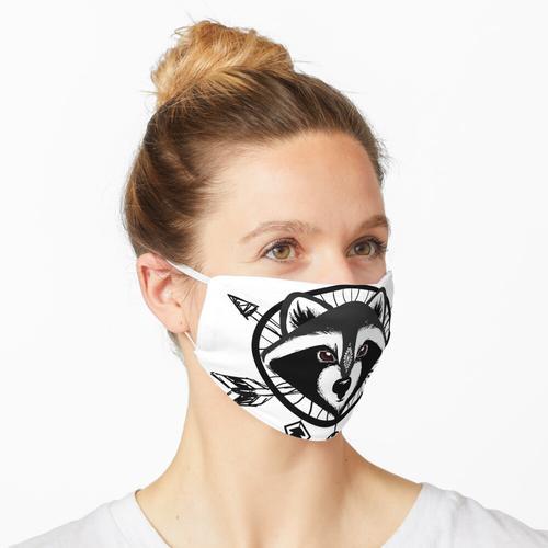 Waschbärfänger Maske