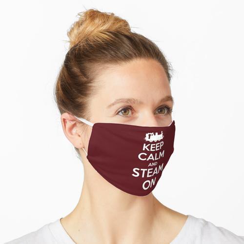 Behalten Sie Ruhe und Dampf auf Dampfmaschine # 2A Maske