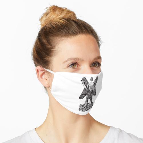 Pazuzu Steinfigur Maske