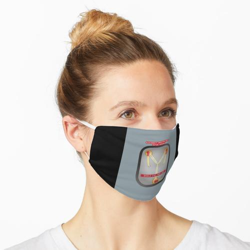 1 Punkt 21 Gigawatt Maske