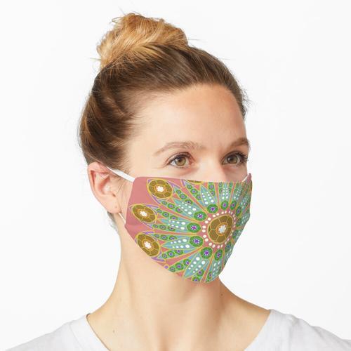 Badezimmertapete Maske