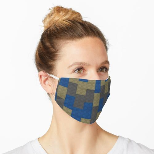 Blauer Backstein Beiger Backstein Grauer Backstein Maske