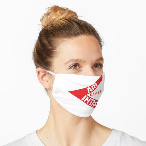 GEFAHR - LUFTEINLASS Maske