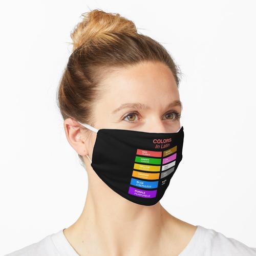 Lateinische Farben - Farben in Latein Maske