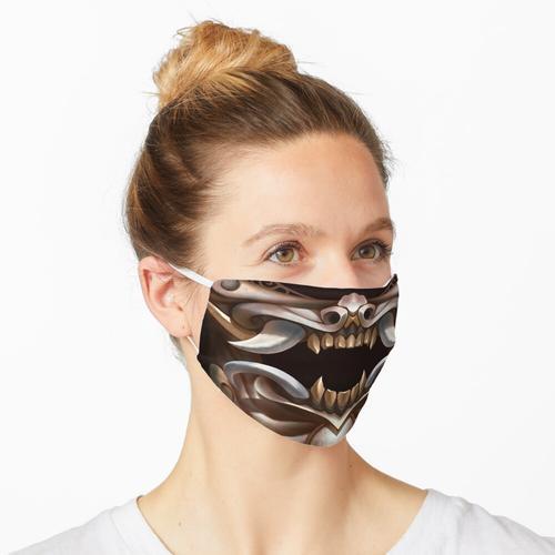 Elfenbein Oni Maske