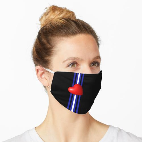 Knick oder Fetisch. Maske