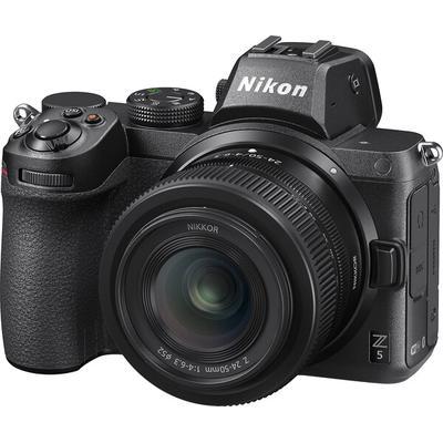 Nikon Z 5 FX-format Mirrorless with Z 24-50mm f/4-6.3