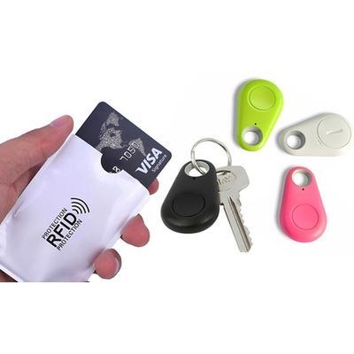 Pochette de protection : pochette anti-RFID / coloris uni / 5
