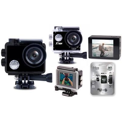 Caméra de sport 4K / Avec carte mémoire 32 Go