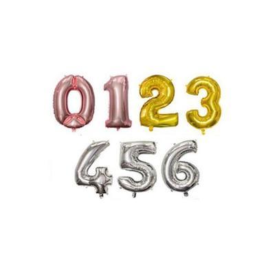 Ballon anniversaire : Chiffre 6 ...