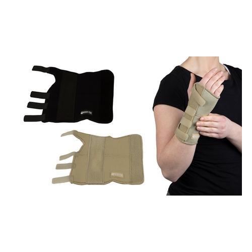 Handgelenkstütze: rechtes Handgelenk / Schwarz / Gr. L