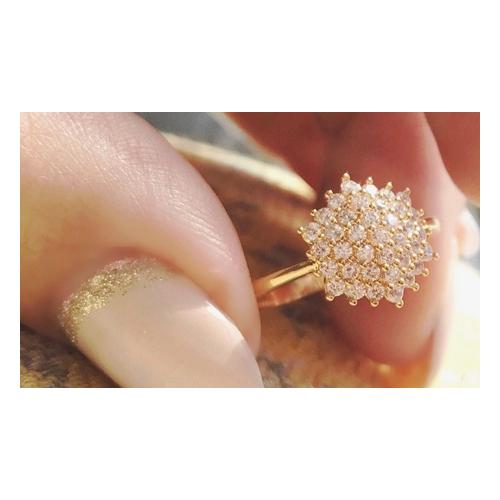 Ah! Jewellery Gold-Ring: Gr. T-U