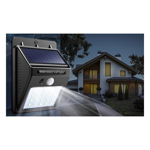 1x Globrite Solar-Lampe mit Bewegungsmelder