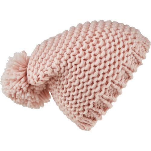 Mütze Grobstrick, rosa