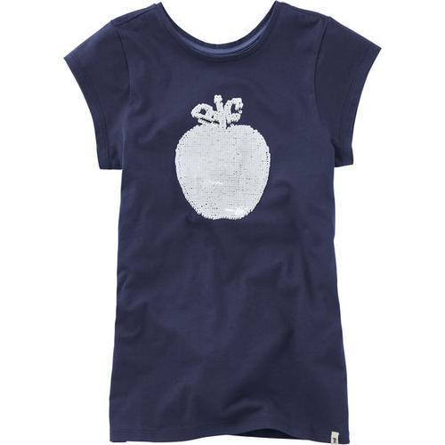 T-Shirt Wendepailletten, blau, Gr. 176/182