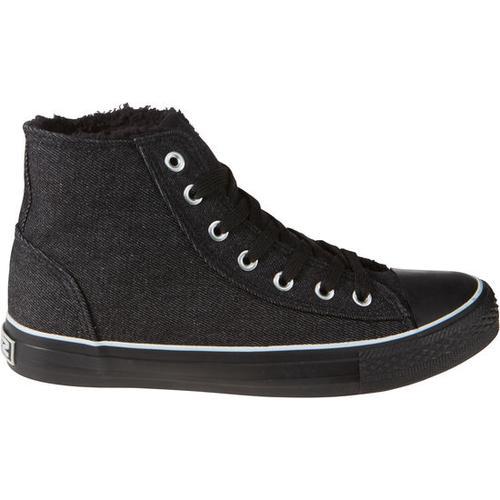 Schuh gefüttert, schwarz, Gr. 39