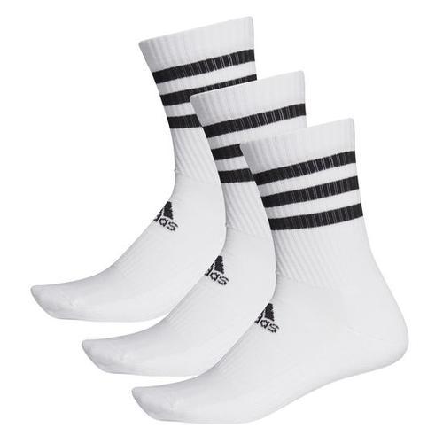 adidas Socken 3er-Pack, weiß, Gr. 43 - 45