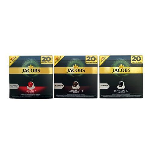 Röstkaffee : 6x Jacobs Espresso Intenso - Intensität 10 - 20 Nespresso