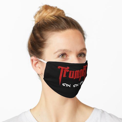 Trompete Sinner Black Tee Maske