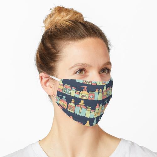 Apothekenflaschen Maske