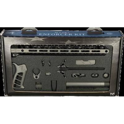 """TCO Enforcer Complete Build Kit for AR-15 M-LOK Ambidextrous Tungsten Enforcer Kits"""