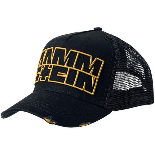 Rammstein Logo Cap - schwarz - Offizielles Merchandise