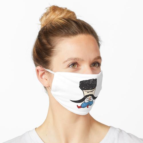 Kosaken - Farbe Maske