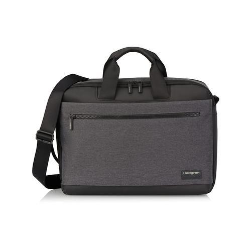 Next Display Aktentasche RFID 39 cm Laptopfach Hedgren stylish grey