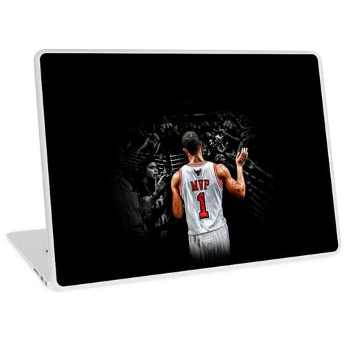 Derrick Rose Wallpaper Laptop Skin