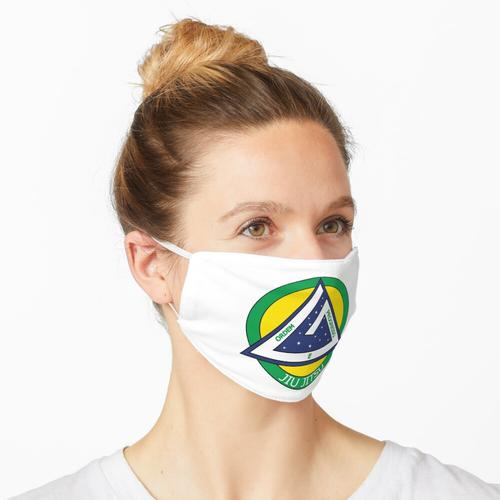 BJJ (brasilianisches Jiu-Jitsu) Brasilien - Weiß Maske