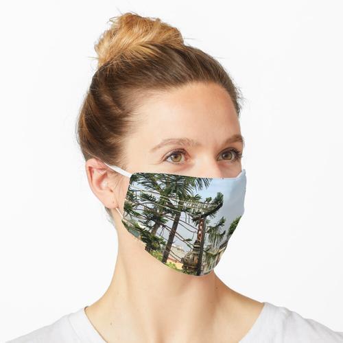 Dachgärten von Indien Maske