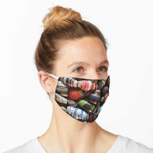 Papierperlen Maske