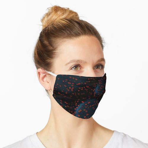 Rote Bakterien Maske