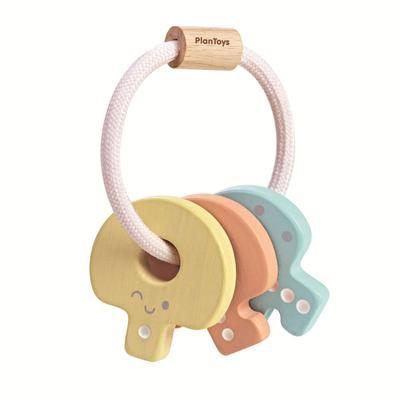 Plan Toys - Plan Toys Pastel Key Rattle