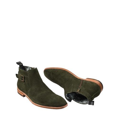 Mey & Edlich Herren Maharadscha-Boot grün 40, 41, 42, 43, 44, 45, 46