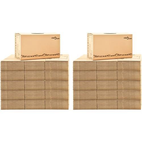 Umzugskartons XXL 200 Stk. 60×33×34 cm