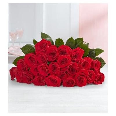 Red Roses, 24 Stems Bouquet Only by 1-800 Flowers