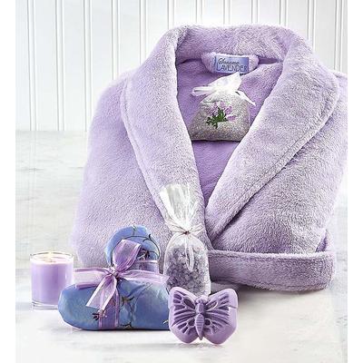 Sonoma Lavender Robe and Bath Gift Set Sonoma Lavender Bath Gift Set with Robe by 1-800 Flowers