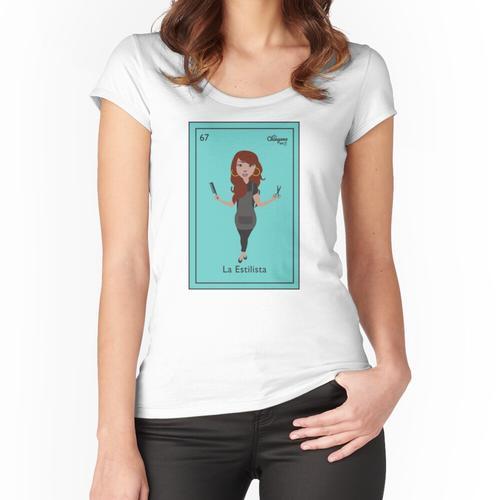 La Estilista Women's Fitted Scoop T-Shirt