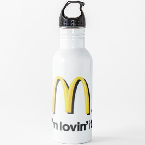 McDonalds Logo Wasserflasche